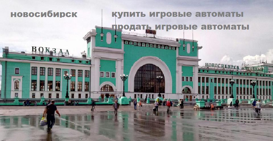игровые автоматы новосибирск купить